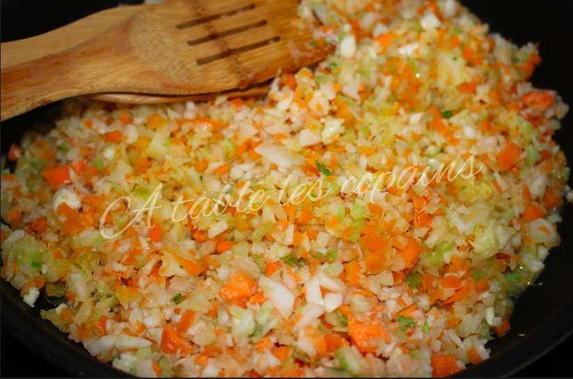 Hachis parmentier de légumes
