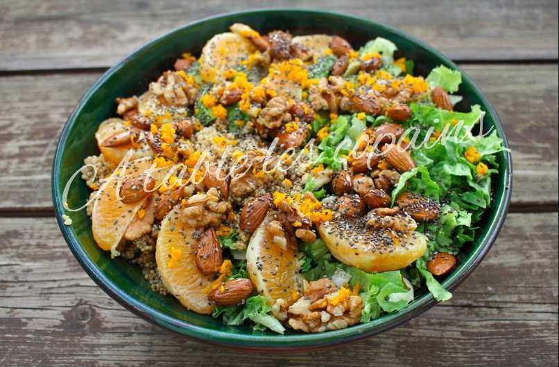 cette salade est une tuerie sans nom, son parfum et son gout est juste sublime !