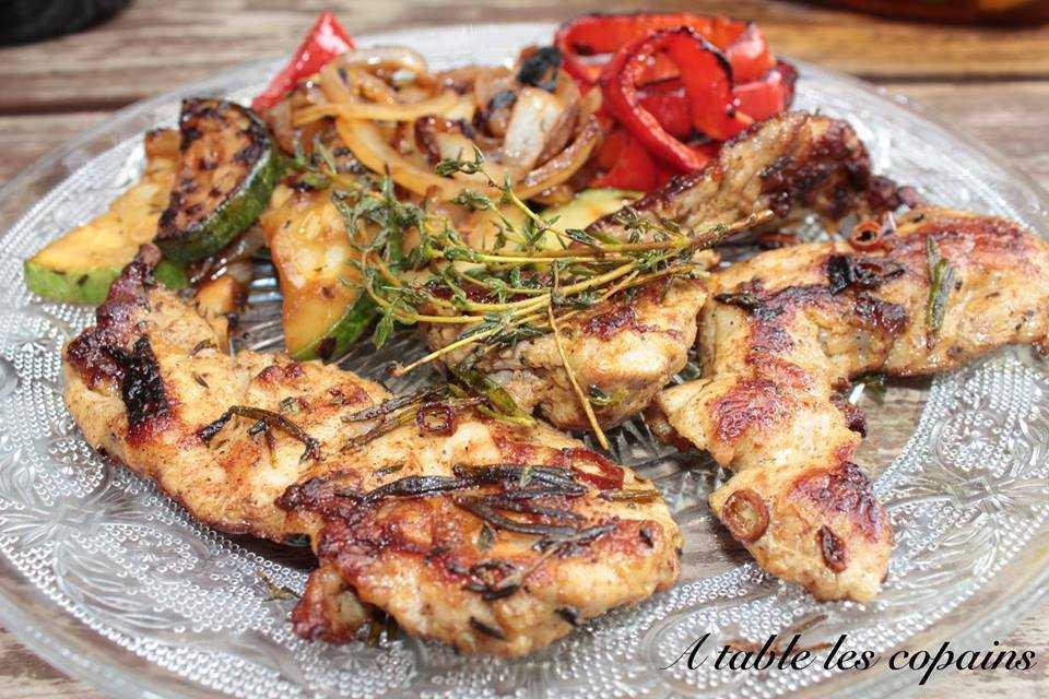 Araignée de porc marinée – A table les copains