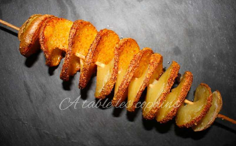 Spirale de pomme de terre