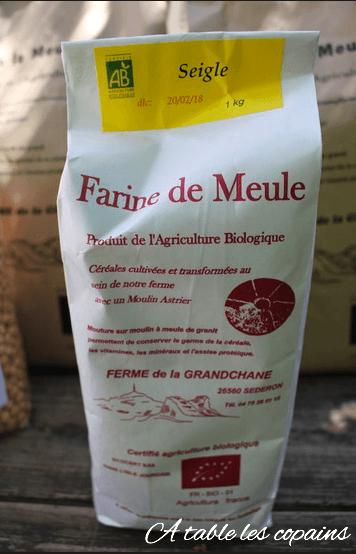 La farine de la ferme Grandchane