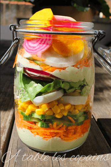 La salade Jar