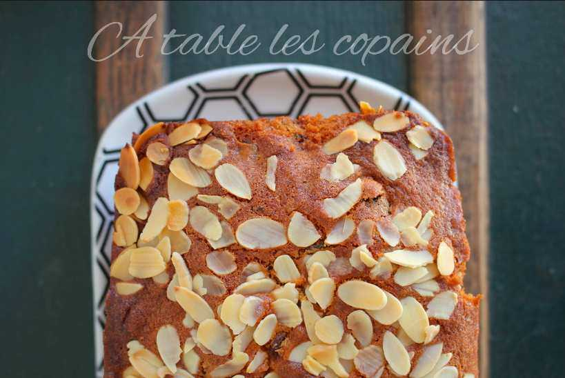 Merveilleux cake aux vrais fruits confits